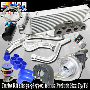 Turbo intercooler Kit manifold For 93 01 Honda Prelude H22