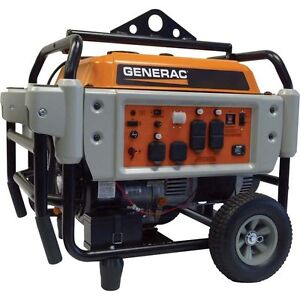 Portable Gas Generator 10 000 Watts Electric Start Carb 9 Gallon 410cc
