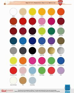 Siser Easyweed Fluorescent 15 X 1 Yard 6 Color Choices