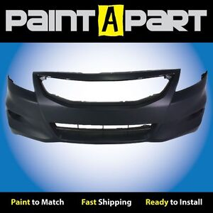 Fits 2011 2012 Honda Accord Coupe Front Bumper Cover premium Painted
