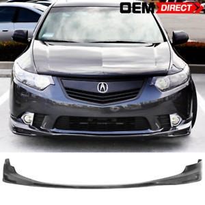 For 09 10 Acura Tsx Cu1 Jdm Type S Style Front Lip Spoiler