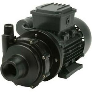 Commercial Chemical Pump Pvdf 1 4 Hp 115v 1ph 18 Gpm Magnetic Drive