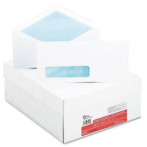 Office Impressions Security Tinted Window Envelopes 10 White 500 box