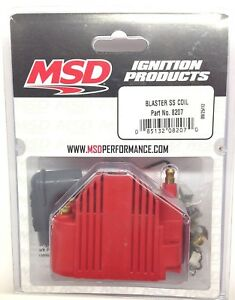 Msd 8207 Msd Ignition Blaster Ss Coil High Voltage 40 000v E core Square Epoxy