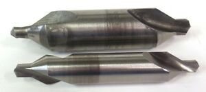 Lot Of 2 Combined Drill Countersink Bit Cleveland 8 Dormer 6