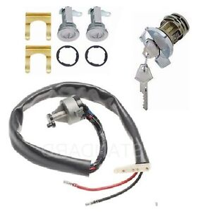 Ignition Switch Matched Ign door Lock Set For 1970 1974 Mopar A body