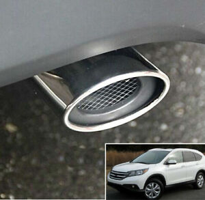 Fit For 2012 2015 Honda Cr v Crv Exhaust Tailpipe Tail Pipe Tip Muffler Trim