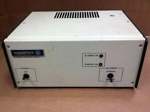 Nanometrics Glower Chopper Power Supply Used
