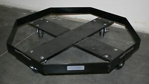 Dolly For Pig And Enpac Drum Spill Tray 28 5 diameter X 6 H
