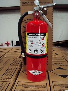 New 2018 amerex 5 lb Abc Fire Extinguisher With Wall Mount Bracket