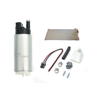 Walbro Gss342 255lph High Pressure Fuel Pump In tank 400 766 Kit Long Filter