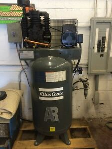 Atlas Copco Ar Series 7 5 Hp Industrial Air Compressor