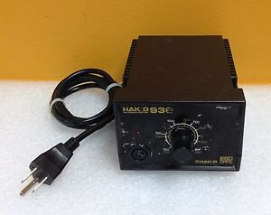 Hakko 936 392 To 896 f 65w 120v 60 Hz 24v Output Soldering Station No Accy