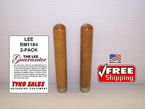 LEE BM1184 * LEE 90029 & 6-CAVITY MOLD REPLACEMENT HANDLES * QTY of TWO * BM1184