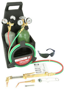 Harris Port a torch Welding And Cutting Torch Outfit With Cylinders 4403211