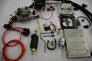 Efi Complete Tbi Conversion Kit For Stock Big Block Chevy 454 7 4l