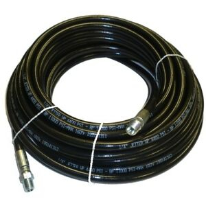 1 4 X 50 Sewer Cleaning Jetter Hose 4400 Psi