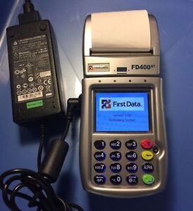 First Data Fd400gt Cdma Wireless Terminal Just 179 Free Shipping
