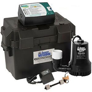Basement Watchdog Bwsp Special Backup Sump Pump 1850 Gph 10
