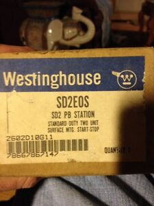 New Westinghouse sd2eos Sd2 Pb Station Style 2602d10g11 Start Stop Switch