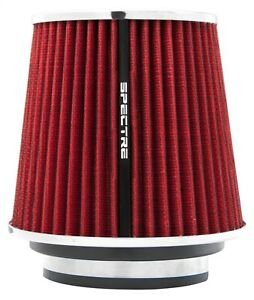 Spectre Performance 8132 Red Cone Air Filter 6 D X 5 5 H Fits 3 3 5 4 Tube