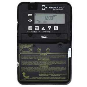 Electronic Timer astro 7 Days spst Intermatic Et8015c