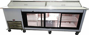 Coolman Commercial Refrigerated Sandwich Prep Table 96