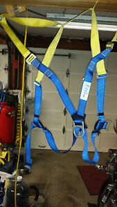 First Safety Belt Protecta Ab17530 Harness D Ring In Good Shape