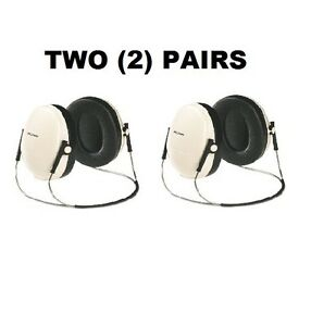 Two 2 Pairs 3m E a r Peltor Optime 95 Behind the head Safety Earmuffs H6b v
