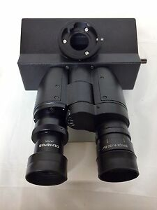 Olympus Trinocular Microscope Head For Bx Series Microscopes W Eyepieces