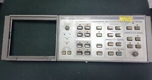 Hp 85662a Spectrum Analizer Display Front Panel Assambly Working Good