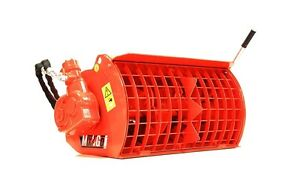 Eterra Mix Go Cement Mixer Bmx 100u For Mini Skid Steers