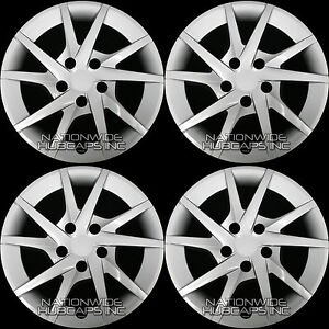 4 New 2012 2016 Toyota Prius V 16 Hub Caps Full Wheel Covers Rim Cap Tire Hubs