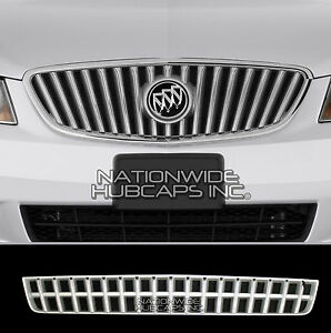 2010 2012 Buick Lacrosse Chrome Snap On Lower Grille Overlay Bottom Cover Insert