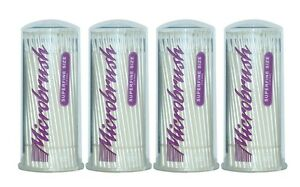 Microbrush Tube Superfine Size White 4 Tbs Of 100 400 Dental Applicators Msf400