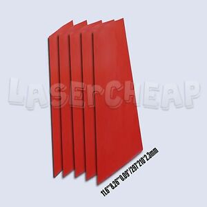 2 3mm A4 Thickness Silicone Rubber Sheet Plate Mat High Temp Commercial