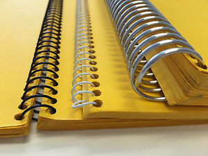 Metal Spiral Coil Binding Supply 1 2 Aluminum For Any Coil Binding Machine