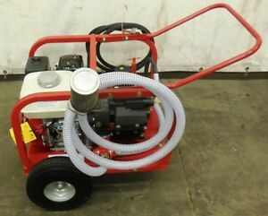 Rice Hydrostatic Test Water Pump With 4 8 Hp Honda Engine New
