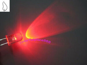 1000pcs 5mm Red Candle Flicker Ultra Bright Flickering Led Leds Light Lamp New