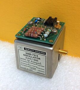 Hp Agilent 5086 7314 2 3 To 6 1 Ghz Yig Tuned Oscillator For 8566b Tested