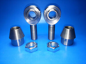 Panhard Bar Rod End Kit 3 4 X 3 4 Bore Chromoly Heim Joints 1 1 4 X 120