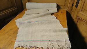 Homespun Linen Hemp Flax Yardage 11 Yards X 18 5 Plain 5619