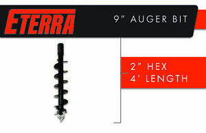 Premium Eterra Auger Bit For Skid Steers Mini Skid Steers Or Excavators 9