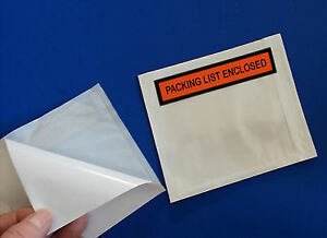 2 mil 50 Packing List Enclosed 4 1 2 X 5 1 2 Slips Envelopes Box Pouches 5 5