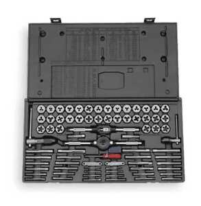 Tap And Die Set 75 Pc carbon Steel Vermont American 21741