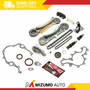 Timing Chain Kit Timing Cover Gaskets Oil Seal Fit 97 11 Ford 4 0 Sohc