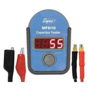 Capacitor Tester 0 01 To 9999uf Supco Mfd10