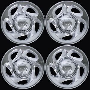 4 Chrome 01 07 Toyota Tundra Sequoia 16 Wheel Skins Hub Caps Rim Covers Wheels