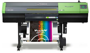 Roland Lec 330 30 Uv Printer Cutter W warranty
