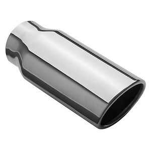 Magnaflow 35129 Exhaust Tip 2 25 Inlet 7 5 Long 3 2x2 5 Outlet Stainless